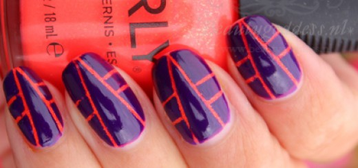 Ablaze Art Deco Nails Beautygoddess