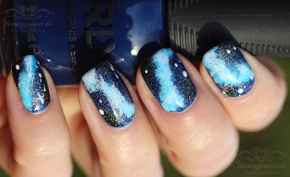 Blue Galaxy Nailart Beautygoddess