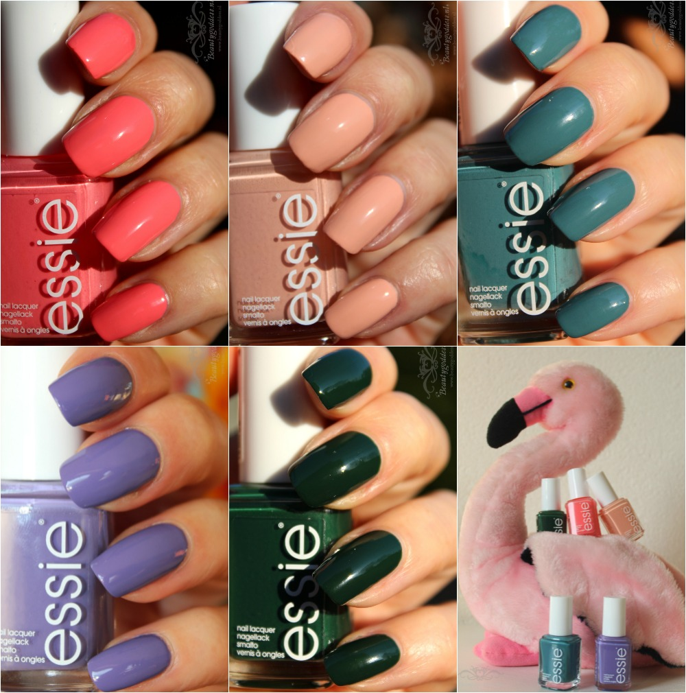 Review & swatches: essie lounge lover, lente collectie 2016 ...