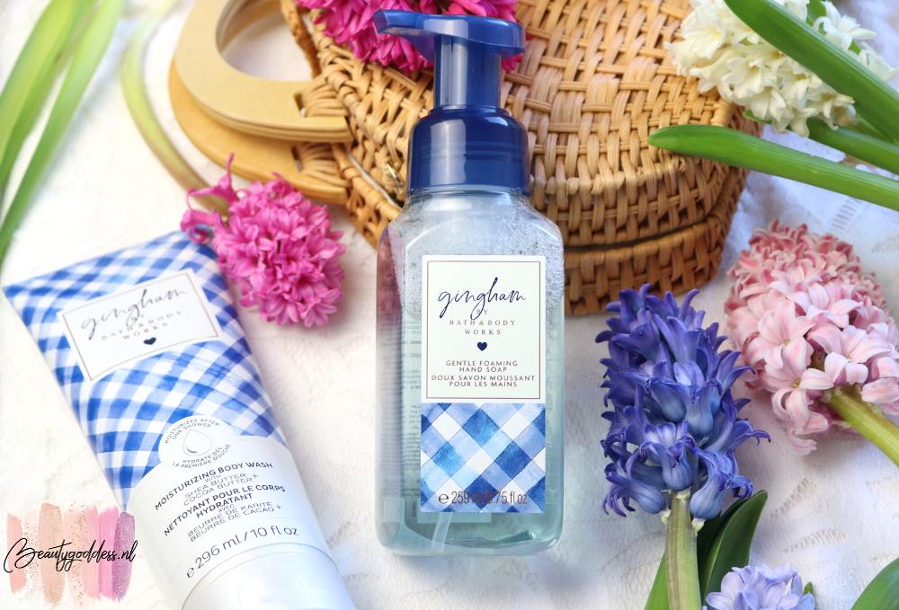 Bath & Body Works Gingham