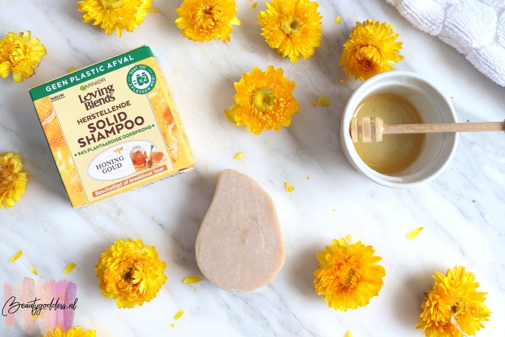 Garnier Loving Blends Honing Goud Solid shampoo