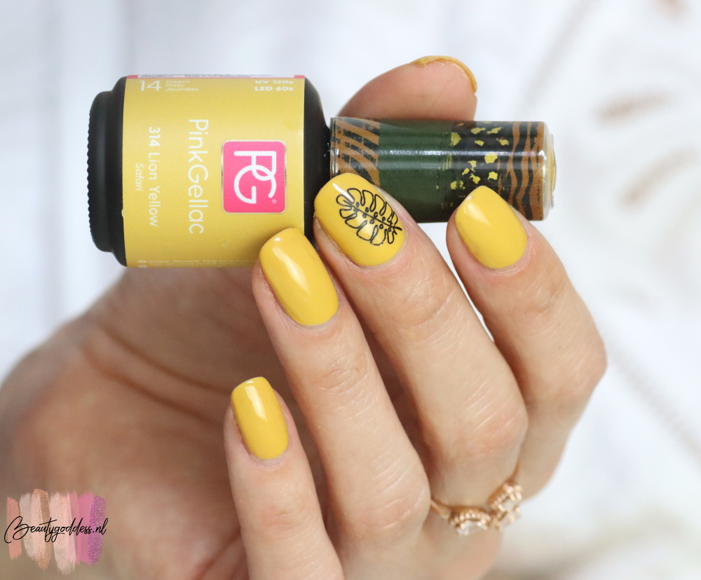 Pink Gellac Lion Yellow