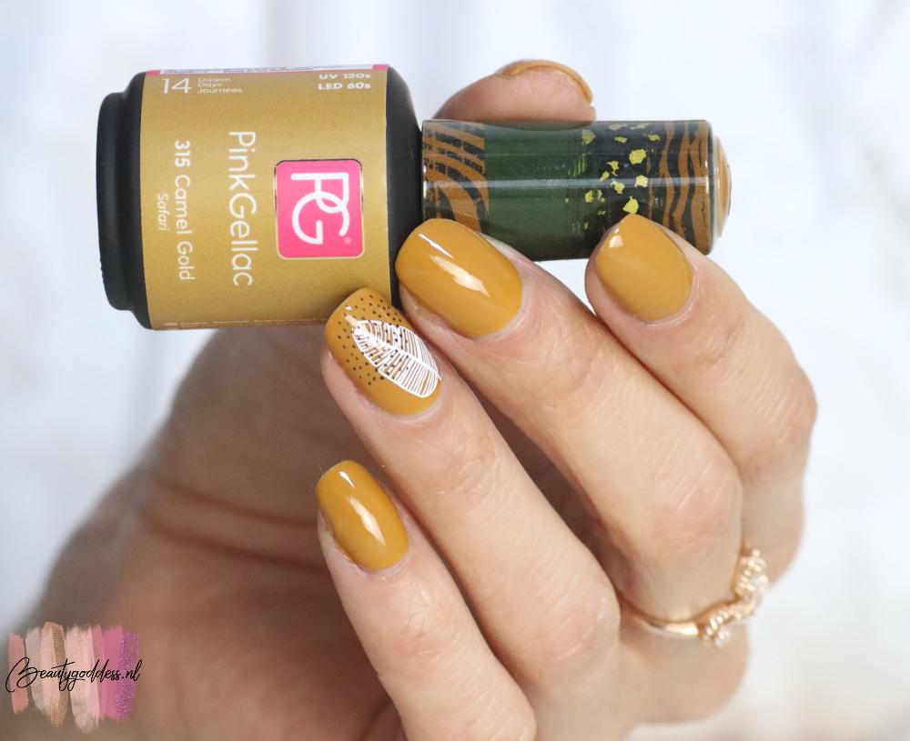 Pink Gellac Camel Gold