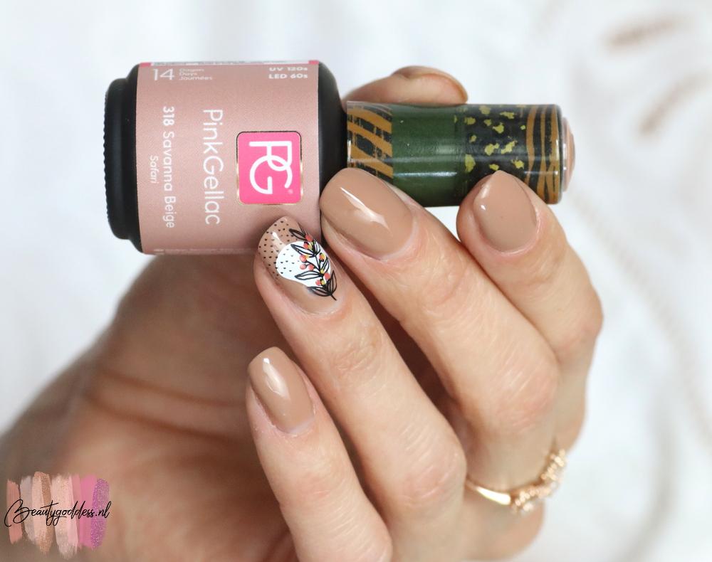 Pink Gellac Savanna beige