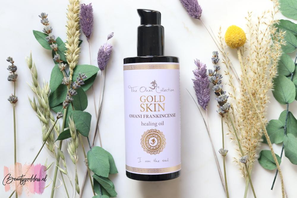 The Ohm collection Omani Frankincense body oil