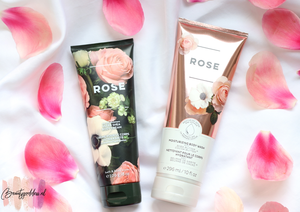 Bath & Body Works Rose body wash & cream