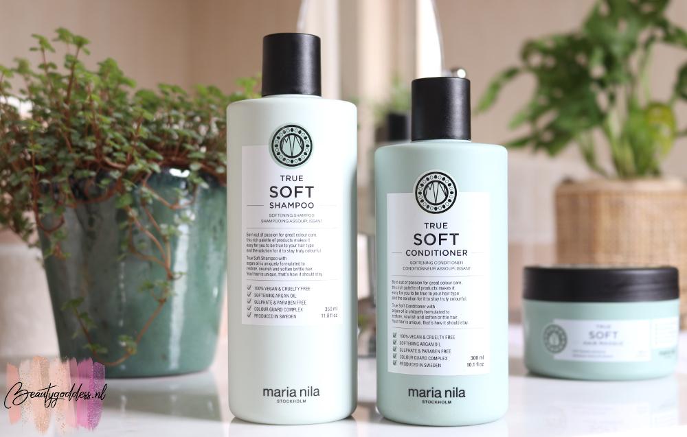 Maria Nila True soft shampoo and conditioner