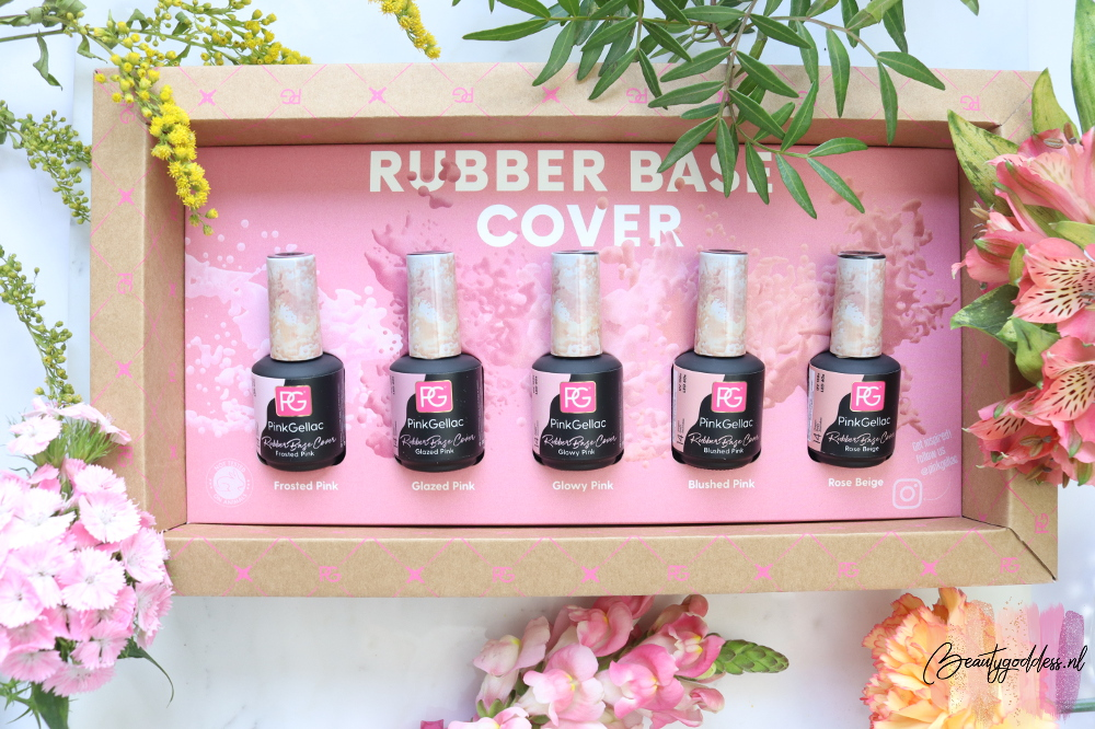 Pink Gellac Rubber base cover