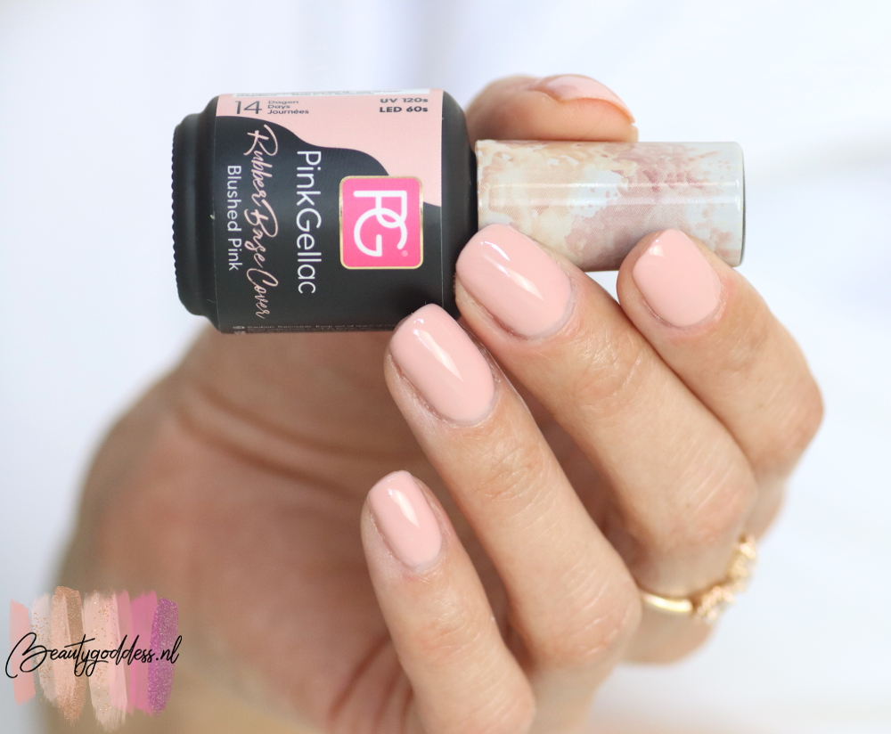 Pink Gellac Rubber base cover Blushed Pink