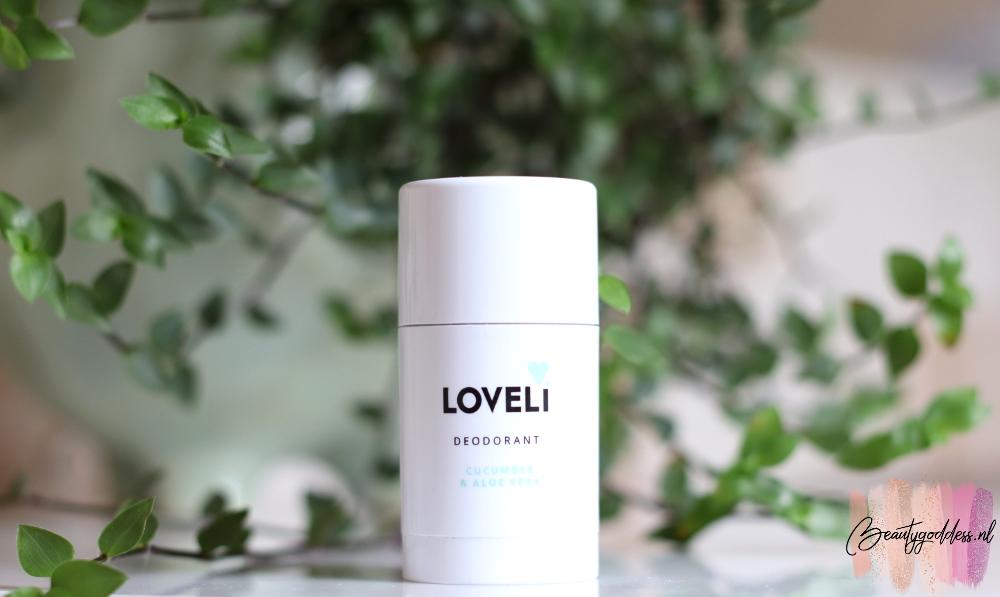 Loveli Aloe Vera & Cucumber deodorant