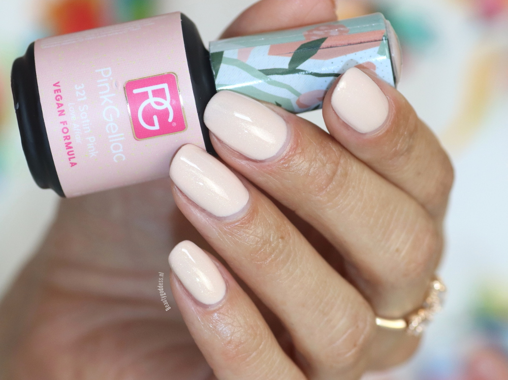 Pink Gellac Satin Pink
