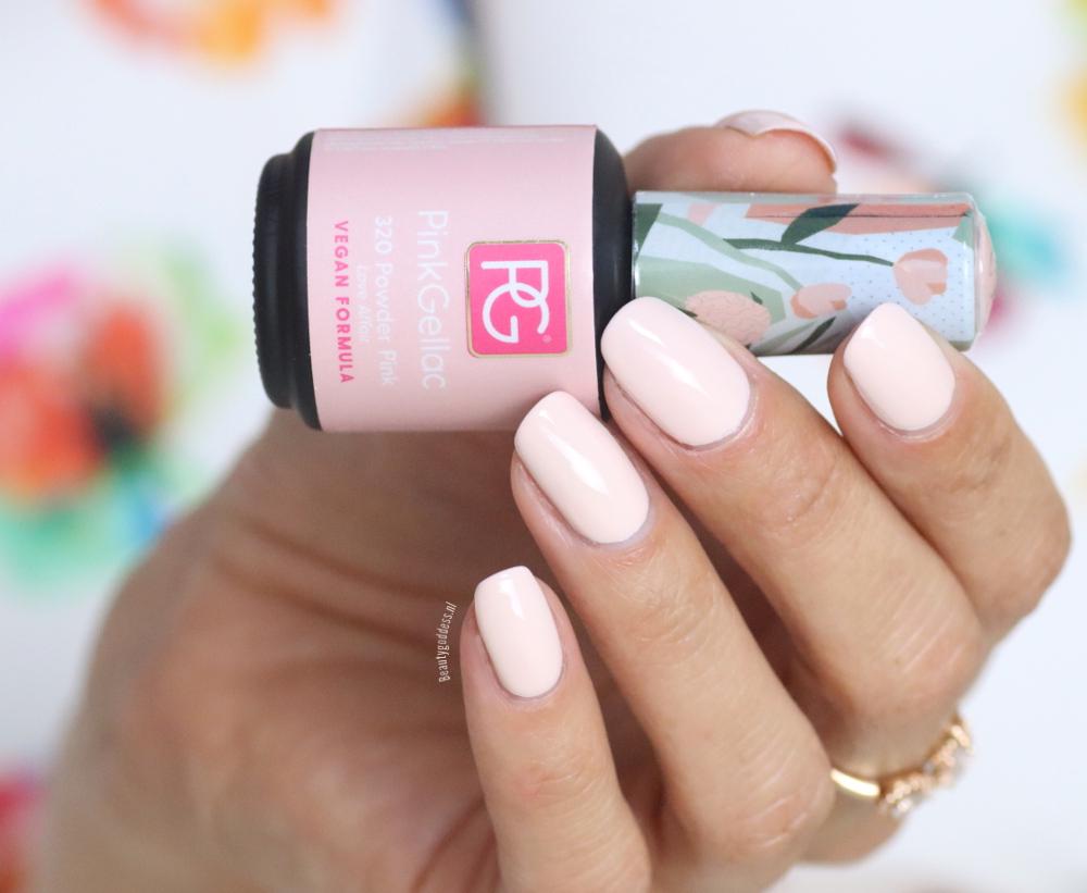 Pink Gellac Powder Pink