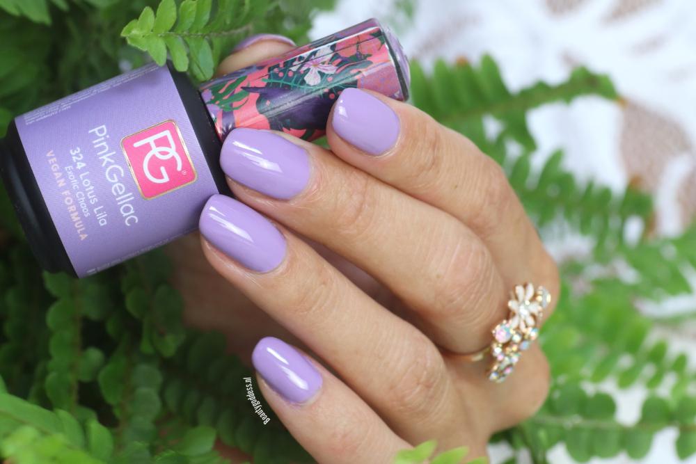 Pink Gellac Lotus Lila