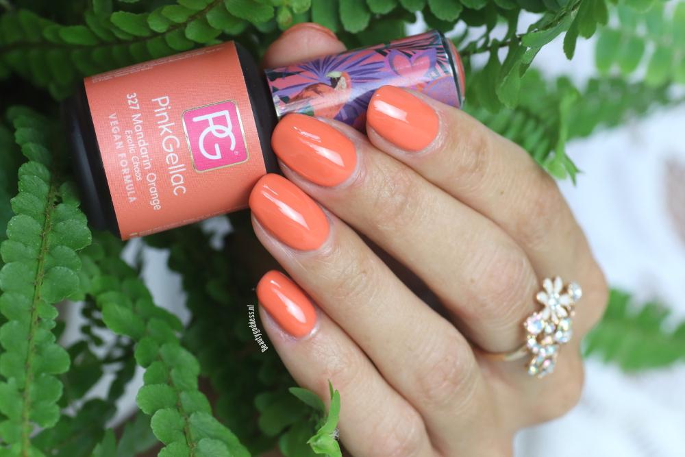 Pink Gellac Mandarin Orange