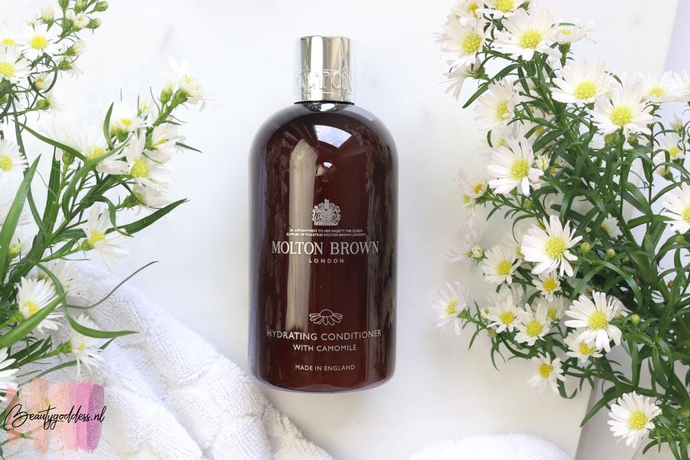 Molton Brown Botanical Haircare conditioner camille