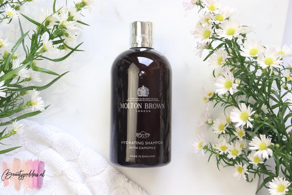 Molton Brown Botanical Haircare shampoo camille