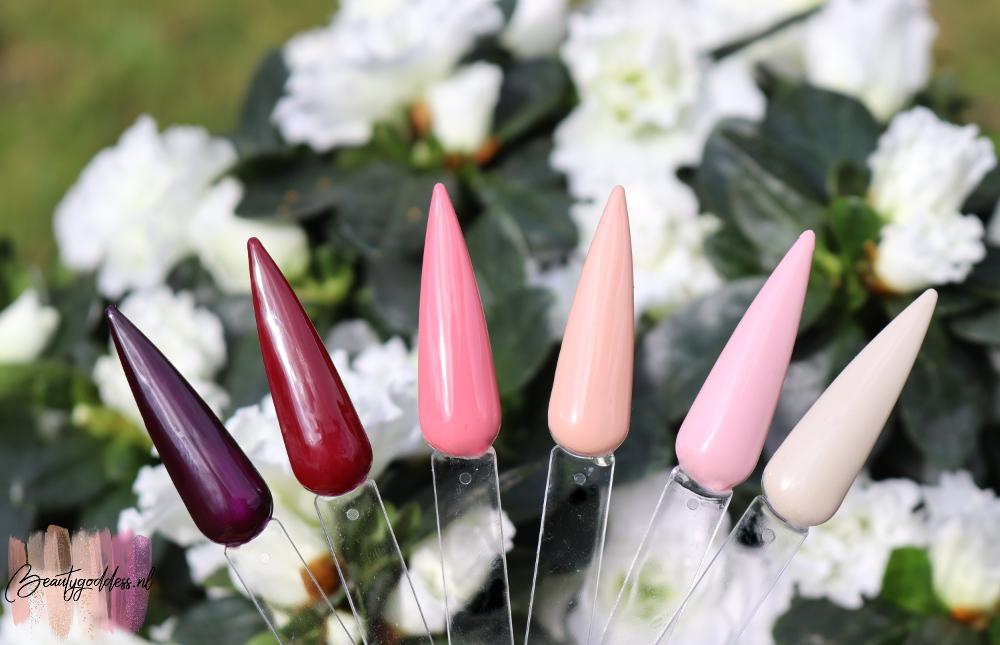 Modelones Pink Lipstick gel polish starter kit review